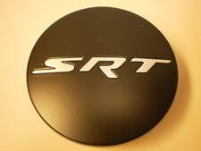 new factory OEM Mopar stock wheel center cap 5QW99RXFAA matte black with SRT