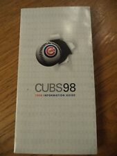 1998  CHICAGO CUBS INFORMATION MEDIA GUIDE