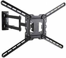 "TV Wall Mount 24"" Long Arm Low Profile Articulating Full Motion Swing Tilt"