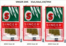30 EACH SINGER BALL POINT 2045 GOLD TIP HOME SEWING MACHINE NEEDLES SIZE#14