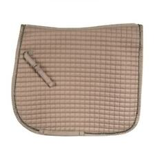 Horze Duchess Quilted Dressage Saddle Pad with Crystal-Adorned Trim