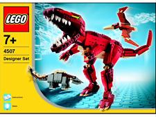 LEGO CREATOR DESIGNER SET 4507 T REX TREX T-REX DINOSAUR BOXED XLNT