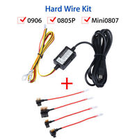 Micro USB 12V to 5V Parking Mode Guard Hard Wire Kit For Mini 0906 Dash cam NEW