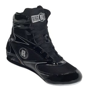 New Ringside Diablo Shoe11 Lo-Top Low Top Boxing Shoes Boots - Black