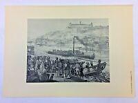 Wurzburg Barvaria Germany Folio Prints, 1800s, F. Kaiser, Willi Greiner, Geist