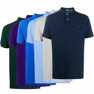 NEU!Ralph Lauren Herren Poloshirt Polo Shirt Kurzarm T-Shirt Polohemd Small Pony