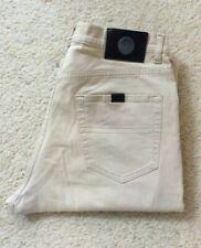 Mens Trussardi Straight Leg Stretch Stone denim jeans W 30 L 31