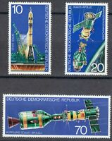 Germany DDR 1975 MNH Mi 2083-2085 Sc 1683-1685 Apollo Soyuz space launch **