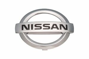 2007-2011 Nissan Versa Front Bumper Radiator Grille Chrome Emblem OEM NEW