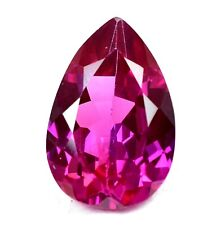 AAA+ 22.90 Ct Natural Pink Pyrope Garnet AGSL Certified STUNNING Pear Gemstone