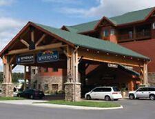 Great Smokies Lodge 2 bedroom deluxe May 22-25 Waterpark sleeps 8 Sevierville TN