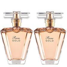 LOT de 2 EAU de Parfum RARE GOLD en vapo de chez AVON neuf