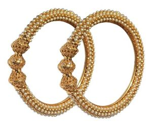 Ethnic Traditional Fashion Gold Plated Indian Bangles Bracelet Women's Jewellery