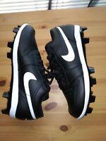 Nike Air Jordan I Retro Low TD Size 10 Black White OG Cleats CJ8524-001 Bred