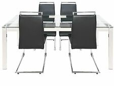 Hygena Glass Up to 4 Seats Table & Chair Sets
