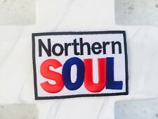 Northern Soul Music Dance 60's Blues Gospel  Embroidered Iron On Patches Patch