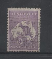 C727 Australie 46 type II gestempeld