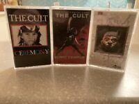 The Cult - 3 Cassette Tape Lot - Sonic Temple  Dreamtime  Ceremony - VG+.