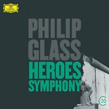 PHILIP GLASS HEROES SYMPHONY [CD]