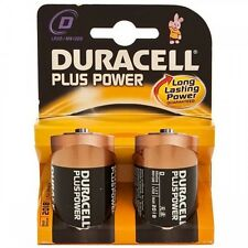 Duracell Plus D Cell Batteries 2 pack
