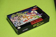 AUTHENTIC Pocky and Rocky 1  * ORIGINAL * SNES Super Nintendo game BOX