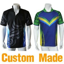 Custom Made Sublimated Rugby Jerseys Shorts Uniforms