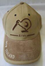 NEW ZEALAND KIWI TAN COTTON ADJUSTABLE HAT CAP