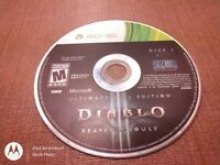 Microsoft Xbox 360 Disc Only Diablo III Reaper of Souls Ultimate Evil Edition