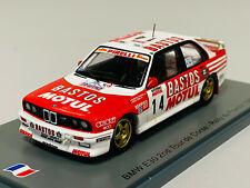 Spark BMW M3 E30: No.14 2nd Tour de Corse - Rallye de France 1989 - François Chatriot/Michel Périn Échelle 1:43 Voiture Miniature (SF150)