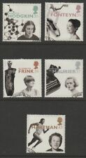 GB EII 1996 Famous Women Europa set sg1935-1939 used