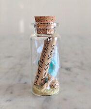 Wedding Favor Handmade Customizable Nautical Beach Message In A Bottle