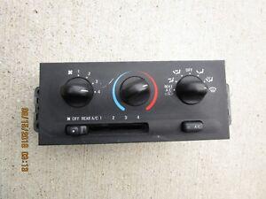 99 - 02 MERCURY VILLAGER A/C HEATER CLIMATE TEMPERATURE CONTROL XF5H-19E758-AB