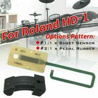 1pc Sheet Sensor Pedal Rubber Actuator Replacement for Roland HD-1 Hi Hat 65mm