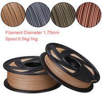 1PC 4 Metal Color 3D Printer Filament 1.75mm PLA 0.5kg/1kg For RepRap Marker