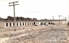 Griswold IA~LACO Oil Burner Factory (Plant) Worker on the Roof RPPC 1940s Cars