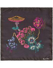 Paul Smith Pocket Square - BNWT Silk Psychedelic Mushroom & Flower Handkerchief