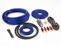 4 GAUGE WIRING KIT 2500W 4 AWG AMP CABLES OVERSIZED CABLES 25MM2 2500W