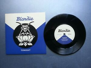 """Blondie - Tonight (UK 1 sided 7"""" from Camden POP UP STORE - NEW - 1000 ONLY !!)"""
