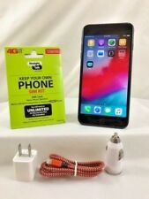 Apple iPhone 7 - 128GB - Jet Black (Verizon/ Straight talk 4G LTE Nano SIM card)