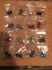 Lot Of 16 Shamballa Crystal Earrings