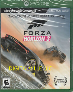 Forza Horizon 3 Xbox One Brand New Factory Sealed Racing 4K Ultra HD HDR