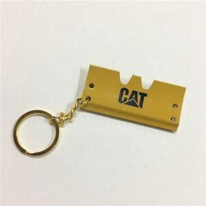 Caterpillar Crawler Track Pad Die-Cast Key Chain