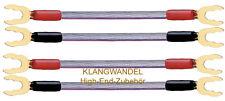 OEHLBACH Jumper / JUMP! / 4 x High-End-Kabelbrücken für Bi-Wiring Neu 5005