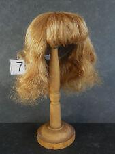 PERRUQUE de POUPEE 100% cheveux T7 (28.5cm) Mi-Longue -50% SUPER PROMO-DOLL WIG