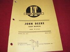 John Deere 70 Diesel Tractor I&T Shop Manual