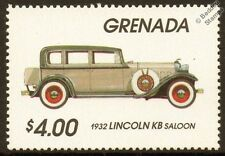 1932 LINCOLN KB SALOON Car Automobile Mint Stamp