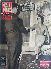 Cinema Cine Zeitschrift 1954 Lollobrigida Monroe Chabassol Film Gefährliche