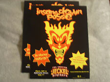 RARE PROMO ONLY Insane Clown Posse 2 MINI POSTER Amazing Jeckel Brothers ICP rap