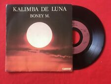 BONEY M KALIMBA DE LUNA TEN THOUSAND LIGHT YEARS 13582 VG+ VINYLE 45T SP