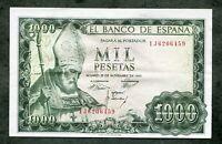 BILLETE  1000 PESETAS 1965 SERIE 1C0631362 EBC
